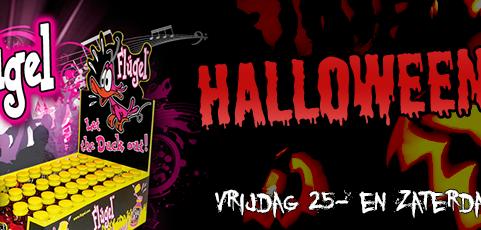 25 & 26 oktober: Flugel Halloween Party