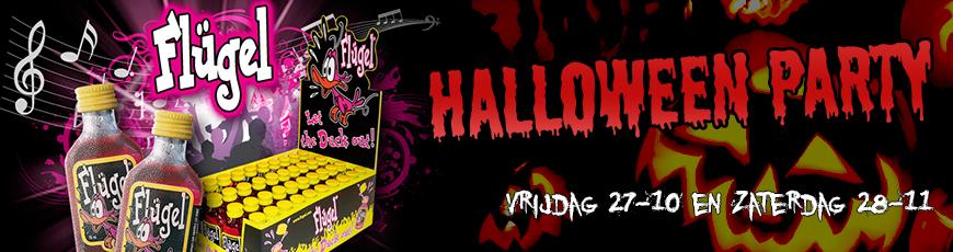 27 & 28 oktober: Flugel Halloween Party