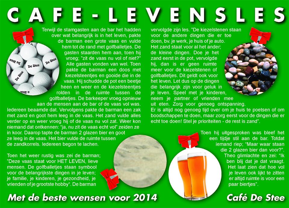 Café levensles