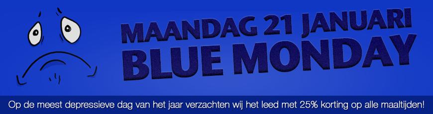 21 januari: Blue Monday aanbieding