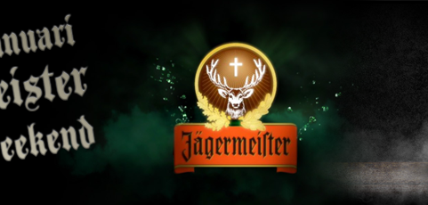 17 & 18 januari: Jägermeister promo weekend