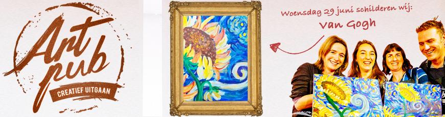 29 juni: Artpub: Gezellig schilderen in de kroeg!