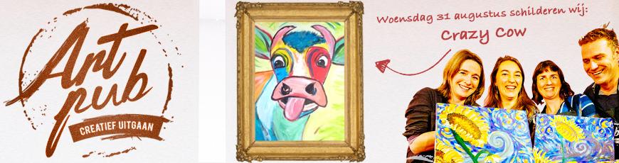 31 augustus: Artpub: Gezellig schilderen in de kroeg!