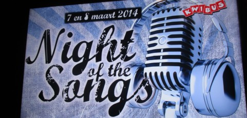 2 februari 2014: The Night of the Songs
