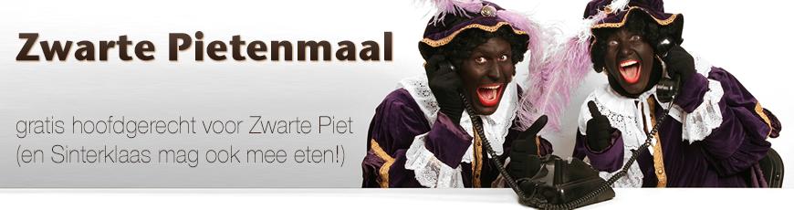 Gratis hoofdgerecht voor Zwarte Piet - Café de Stee