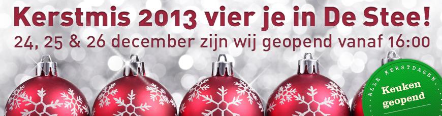 Kerstdiner IJsselstein, uit eten - Café de Stee