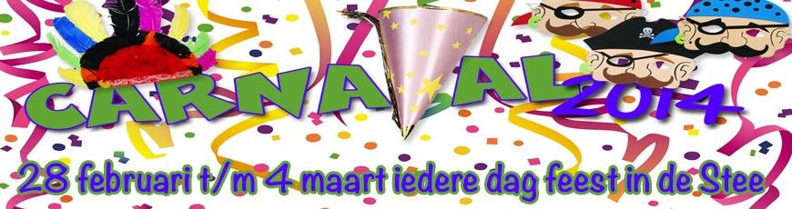 Carnaval 2014 vier je in De Stee IJsselstein