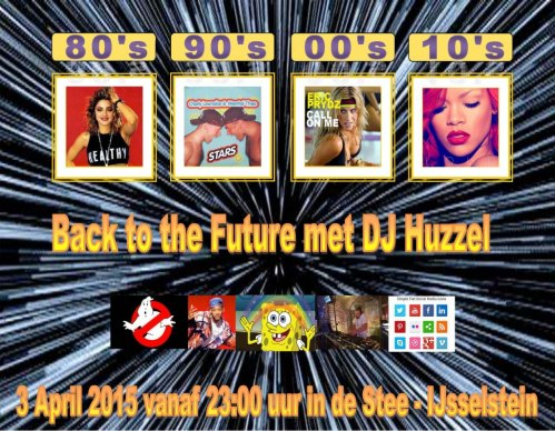 back to the future feest 2015