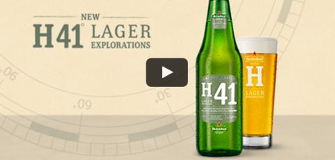 Nieuw: Heineken H41 Wild Lager, een eerbetoon aan Heineken's A-gist